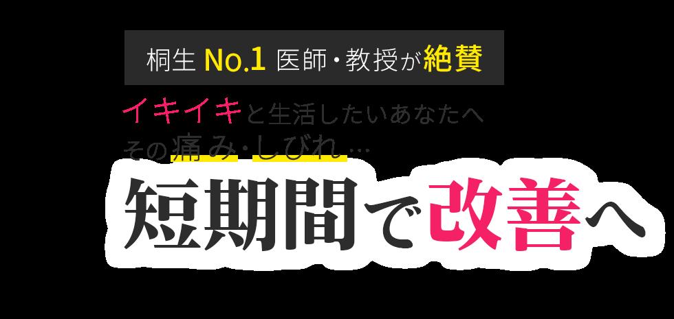 「石原整骨院」桐生市の整体で口コミ評価No.1 メインイメージ