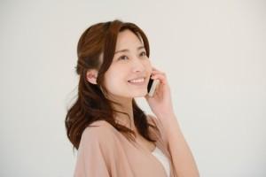 女性電話1